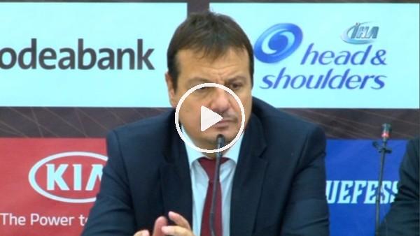 """Ergin Ataman: """"Bu sezon hücum olarak en iyi oyunumuzu oynadık"""""""