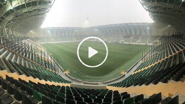Akhisarspor'un yeni stadı basına tanıtıldı