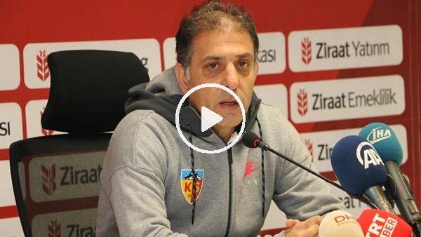 """Kayserispor Yardımcı Antrenörü Hakan Ertürk: """"Maç bizim kontrolümüzde geçti"""""""