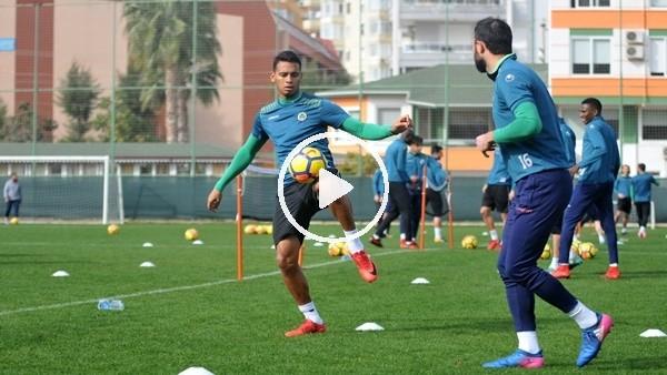 Alanyaspor'da Bursaspor maçı hazırlıkları tamamlandı