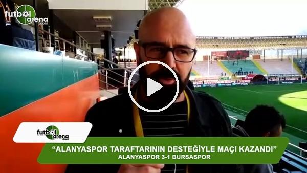 """Ercan Yıldırım: """"Alanyaspor taraftarının desteğiyle maçı kazandı"""""""