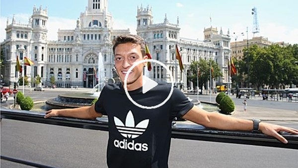 Mesut Özil, Londra sokaklarında!