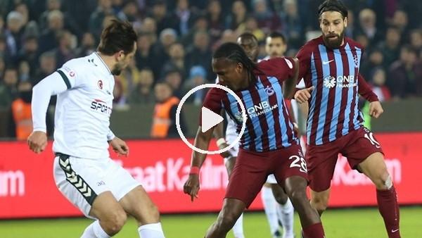 Tranzonspor 1-1 Atiker Konyaspor (Maç özeti ve golleri)