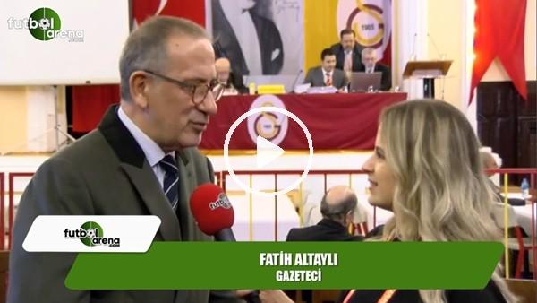 """Fatih Altaylı: """"Oyumu Mustafa Cengiz'e verdim"""""""