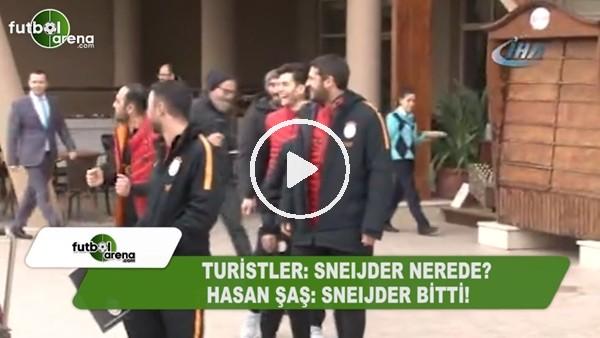 """Hasan Şaş: """"Sneijder bitti"""""""