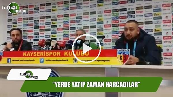 """Sumudica: """"Galatasaraylı futbolcular yerde yatıp zaman harcadılar"""""""