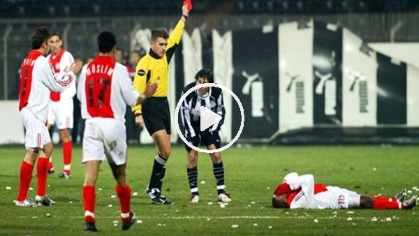 Cem Papila'nın Beşiktaşlı futbolculara 5 kırmızı kart gösterdiği maç