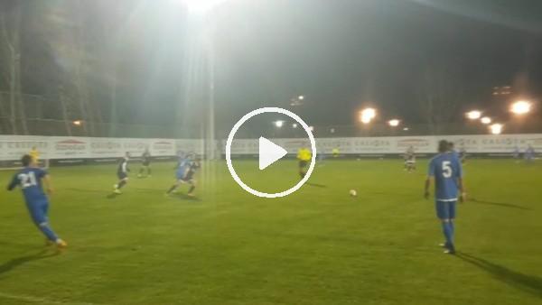 Rizespor hazırlık maçında Etimesgut Belediyespor ile karşılaştı