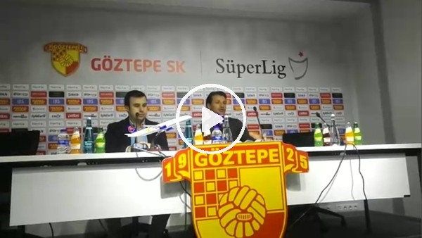Tamer Tuna'nın Kayserispor maçı sonrası açıklamaları