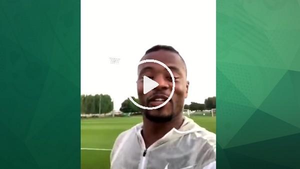 Patrice Evra'dan Galatasaray taraftarına teşekkür