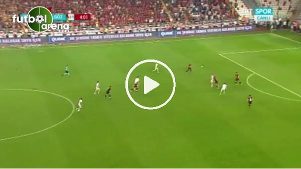 Adis Jahovic'in Göztepe'ye can veren golü
