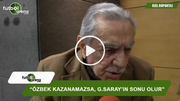 """Aydemir Akbaş: """"Dursun Özbek kazanacaktır"""""""