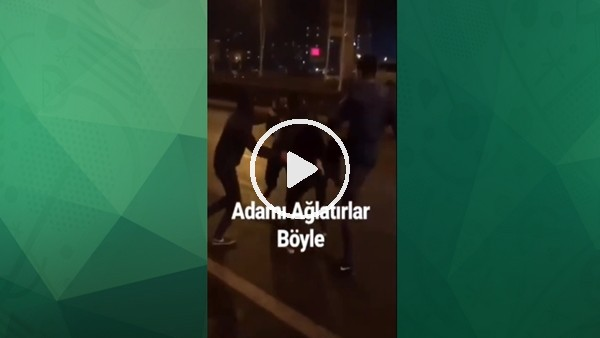 Galatasaraylı taraftara saldırı!