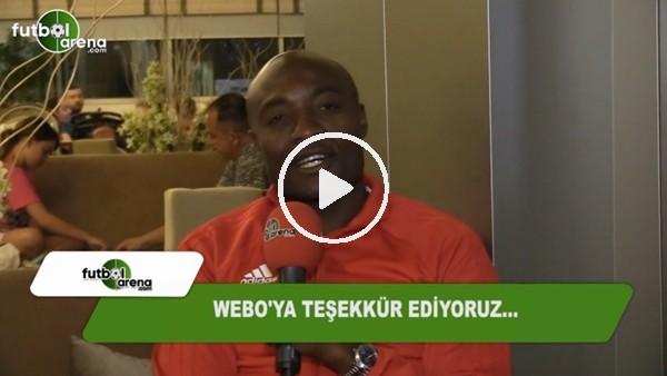 Webo'dan FutbolArena aracılığıyla mesaj