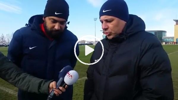 """Sumudica: """"Galatasaray maçına en az 1 puan parolasıyla çıkacağız"""""""