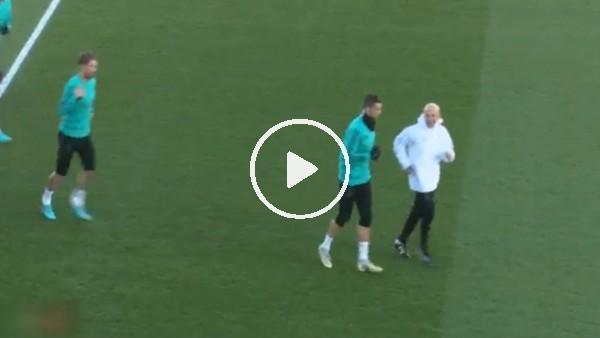 Cristiano Ronaldo, Zidane'ın emrini dinlemedi!