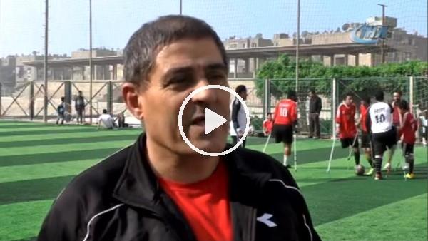 Mısır'da ampute futbolcular kendi takımlarını kurdu