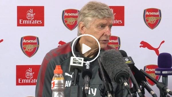 """Arsene Wenger: """"Danny Welbeck, İngiltere'de kalmak istediğni söyledi"""""""