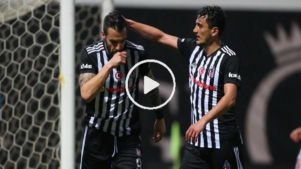 Mustafa Pektemek ve Negredo'nun Skenderbeu maçında attığı goller