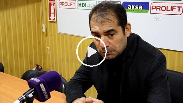 """Metin Diyadin: """"Kendi evimizde beklemediğimiz bir mağlubiyet aldık"""""""
