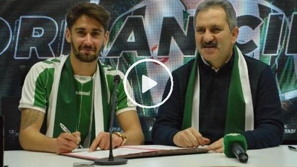 """Orkan Çınar: """"Konyaspor'da olduğum için çok mutluyum"""""""