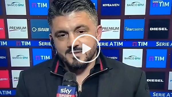"""Gattuso'dan Buffon'un sevgilisine: """"Bugün Gigi'nin doğum günü, ona dilli bir öpücük ver."""""""
