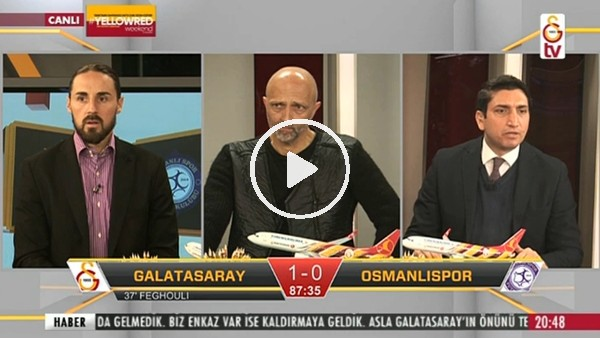 Gomis'in Osmanlıspor'a attığı golde GS TV!
