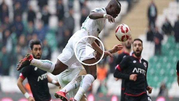 Bursaspor 2-1 Gençlerbirliği (Maç özeti ve golleri)