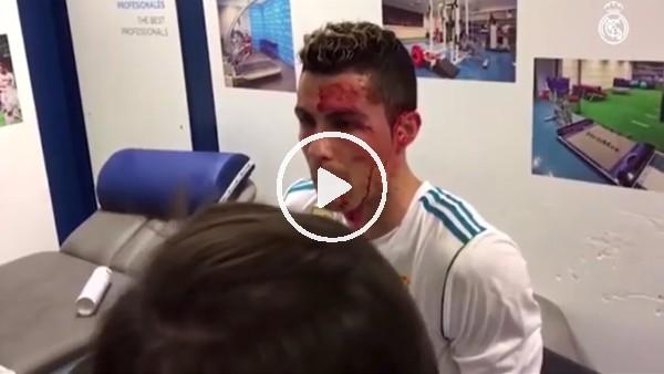 Ronaldo'nun kanlar içindeki görüntüleri yayınlandı!