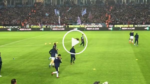 Trabzonspor taraftarından Fenerabahçeli futbolculara tepki