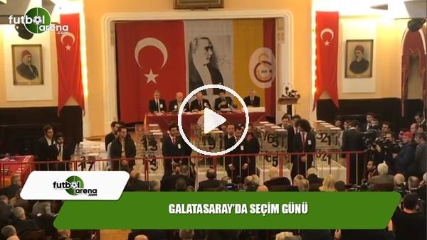 Galatasaray'da seçim günü