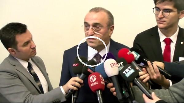 """Abdurrahim Albayrak: """"Ben tüymedim, biz tüymedik"""""""