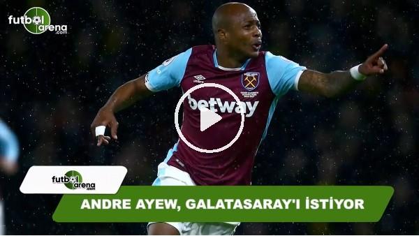 Andre Ayew, Galatasaray'ı istiyor