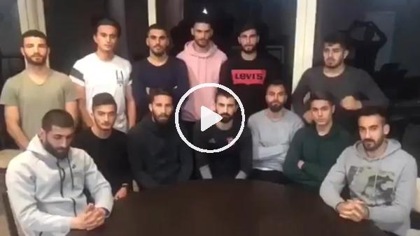 Gaziantepsporlu futbolculardan taraftarlara ve tüm Gaziantep Halkına çağrı!