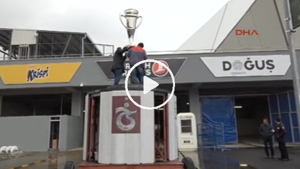 Trabzonsporlu taraftar, 'Şike Anıtı' platformunu kulübe hediye edecek