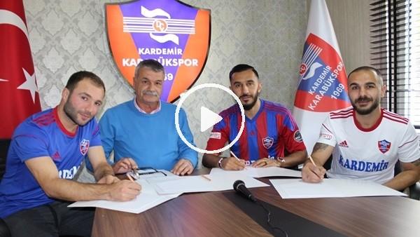 Karabükspor, 3 oyuncuyla resmi sözleşme imzaladı