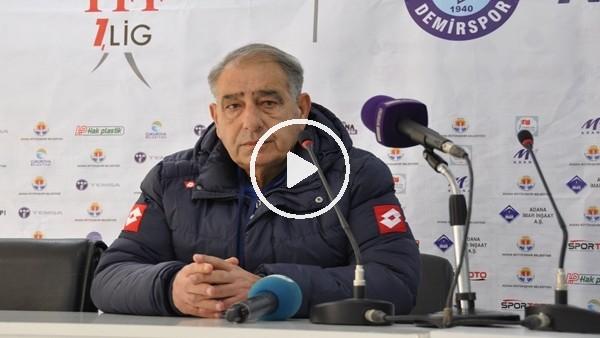 """Kubilayhan Yücel: """"Bireysel hatalardan yediğimiz goller oyun disiplinimizi bozdu"""""""
