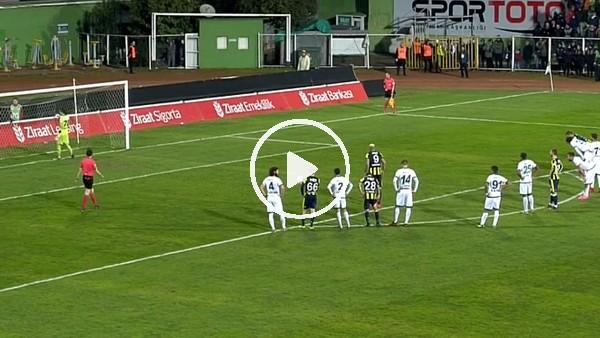 Fernandao'nun Giresunspor'a penaltıdan attığı gol