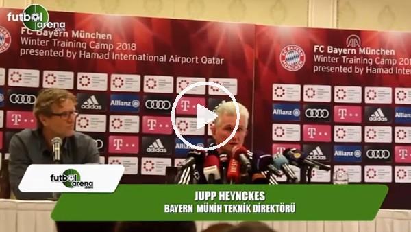 """Bayern Münih Teknik Direktörü Jupp Heynckes: """"Beşiktaş'tan çok etkilendim"""""""