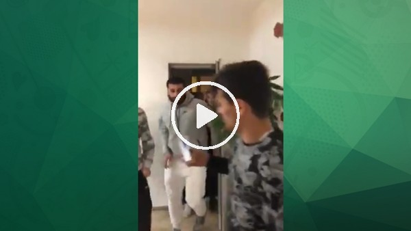 Gaziantepsporlu futbolcular kulüp müdürünün odasını bastı