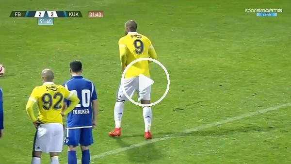 Fernandao penaltıdan beraberlik golünü attı