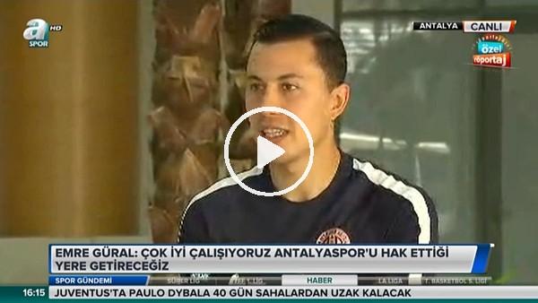 """Emre Güral: """"Şampiyonluk favorim Beşiktaş"""""""