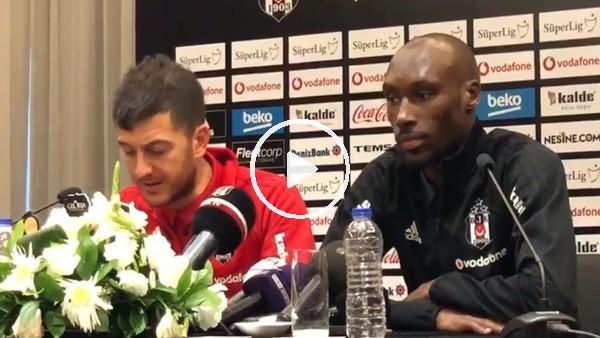 Beşiktaş'ta Atiba Hutchinson basn toplantısı düzenledi