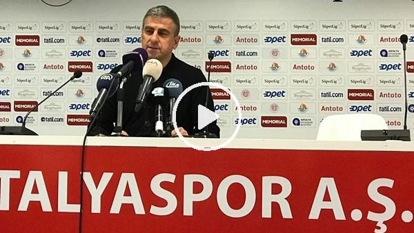 """Hamza Hamzaoğlu: """"Oyuncularımı tebrik ediyorum"""""""
