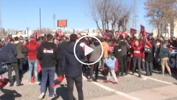 Gaziantepspor'a destek yürüyüşü