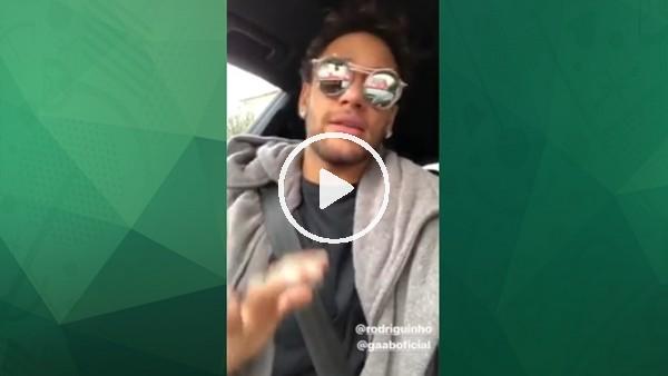 Neymar sesiyle büyüledi!