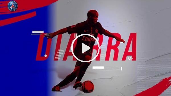 PSG'den Lassana Diarra paylaşımı