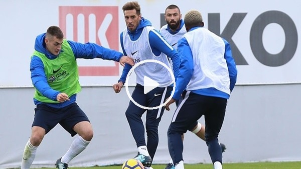 Trabzonspor, ligde oynayacağı Konyaspor maçı hazırlıklarına başladı