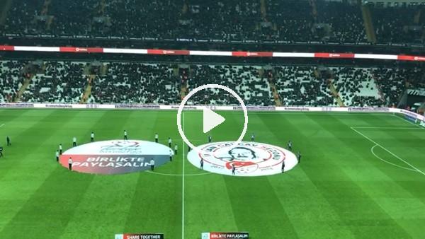 """Vodafone Park'ta """"Come to Beşiktaş"""" müziği ilk kez çalıyor"""