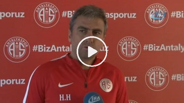 """Hamza Hamzaoğlu: """"Kayserispor maçını zor ama kazanmak imkansız değil"""""""